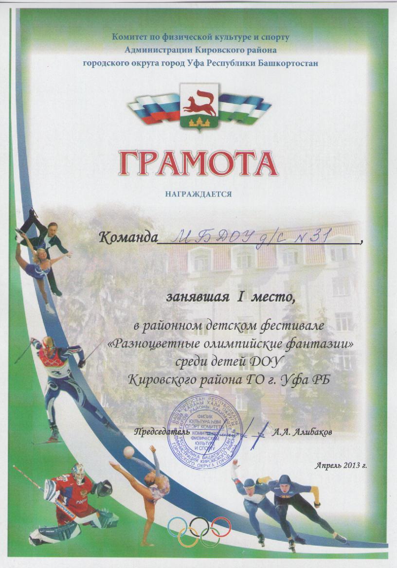 Спартакиада 2013
